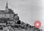 Image of Mont-Saint-Michel Normandy France, 1931, second 11 stock footage video 65675031148