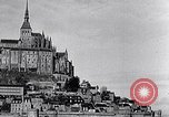 Image of Mont-Saint-Michel Normandy France, 1931, second 13 stock footage video 65675031148