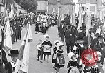Image of Festival in Brittany Pont l'Abbe Bretagne France, 1931, second 2 stock footage video 65675031150