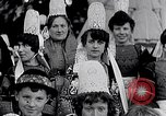 Image of Festival in Brittany Pont l'Abbe Bretagne France, 1931, second 27 stock footage video 65675031150