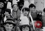 Image of Festival in Brittany Pont l'Abbe Bretagne France, 1931, second 29 stock footage video 65675031150