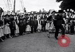 Image of Festival in Brittany Pont l'Abbe Bretagne France, 1931, second 32 stock footage video 65675031150