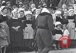 Image of Festival in Brittany Pont l'Abbe Bretagne France, 1931, second 42 stock footage video 65675031150