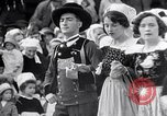 Image of Festival in Brittany Pont l'Abbe Bretagne France, 1931, second 49 stock footage video 65675031150