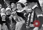 Image of Festival in Brittany Pont l'Abbe Bretagne France, 1931, second 50 stock footage video 65675031150