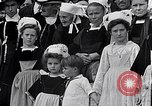 Image of Festival in Brittany Pont l'Abbe Bretagne France, 1931, second 55 stock footage video 65675031150