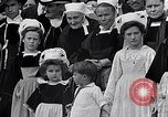 Image of Festival in Brittany Pont l'Abbe Bretagne France, 1931, second 56 stock footage video 65675031150