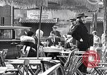 Image of cafes and culture of Paris early 1930s Paris France, 1933, second 16 stock footage video 65675031155