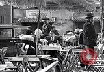 Image of cafes and culture of Paris early 1930s Paris France, 1933, second 17 stock footage video 65675031155