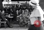Image of cafes and culture of Paris early 1930s Paris France, 1933, second 60 stock footage video 65675031155