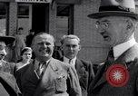 Image of French dignitary Europe, 1936, second 7 stock footage video 65675031212