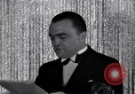 Image of John Edgar Hoover United States USA, 1937, second 59 stock footage video 65675031217
