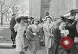 Image of Easter New York City USA, 1945, second 24 stock footage video 65675031224