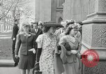 Image of Easter New York City USA, 1945, second 25 stock footage video 65675031224