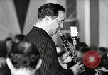 Image of Benny Goodman New York City USA, 1943, second 28 stock footage video 65675031228