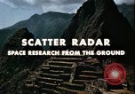 Image of Scatter Radar United States USA, 1963, second 10 stock footage video 65675031238