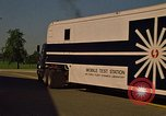 Image of Mobile Test Station New Mexico United States USA, 1978, second 62 stock footage video 65675031257