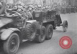 Image of Hungarian military parade Budapest Hungary, 1944, second 57 stock footage video 65675031296