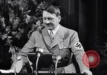 Image of Adolf Hitler Speaking Germany, 1933, second 57 stock footage video 65675031310