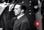 Image of Joseph Goebbels Germany, 1935, second 6 stock footage video 65675031313