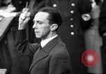 Image of Joseph Goebbels Germany, 1935, second 7 stock footage video 65675031313