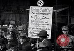 Image of Nazis call for Jewish boycott Berlin Germany, 1933, second 49 stock footage video 65675031316