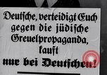Image of Nazis call for Jewish boycott Berlin Germany, 1933, second 60 stock footage video 65675031316