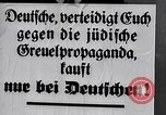 Image of Nazis call for Jewish boycott Berlin Germany, 1933, second 61 stock footage video 65675031316