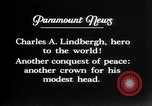 Image of Charles Lindbergh Mexico City Mexico, 1927, second 45 stock footage video 65675031341