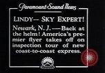 Image of Charles Lindbergh Newark New Jersey USA, 1929, second 1 stock footage video 65675031343