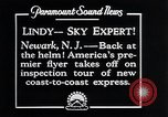 Image of Charles Lindbergh Newark New Jersey USA, 1929, second 6 stock footage video 65675031343