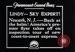 Image of Charles Lindbergh Newark New Jersey USA, 1929, second 7 stock footage video 65675031343