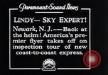 Image of Charles Lindbergh Newark New Jersey USA, 1929, second 8 stock footage video 65675031343