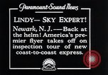 Image of Charles Lindbergh Newark New Jersey USA, 1929, second 13 stock footage video 65675031343