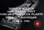 Image of Donald Nelson Detroit Michigan USA, 1942, second 6 stock footage video 65675031348
