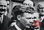 Image of Charles Lindbergh Paris France, 1928, second 15 stock footage video 65675031355