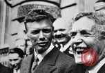 Image of Charles Lindbergh Paris France, 1928, second 24 stock footage video 65675031355