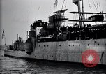 Image of Charles Lindbergh Cherbourg Normandy France, 1928, second 30 stock footage video 65675031364