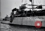 Image of Charles Lindbergh Cherbourg Normandy France, 1928, second 31 stock footage video 65675031364