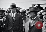 Image of Charles Lindbergh Mexico City Mexico, 1928, second 48 stock footage video 65675031382