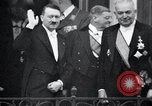 Image of Adolf Hitler at Bayreuth Opera House Bayreuth Bavaria Germany, 1936, second 17 stock footage video 65675031412