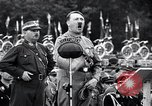 Image of Adolf Hitler reviews brown shirts Germany, 1933, second 5 stock footage video 65675031413