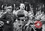 Image of Adolf Hitler reviews brown shirts Germany, 1933, second 6 stock footage video 65675031413