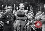 Image of Adolf Hitler reviews brown shirts Germany, 1933, second 8 stock footage video 65675031413