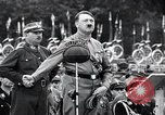 Image of Adolf Hitler reviews brown shirts Germany, 1933, second 9 stock footage video 65675031413