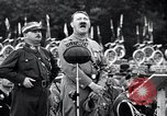Image of Adolf Hitler reviews brown shirts Germany, 1933, second 19 stock footage video 65675031413