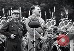Image of Adolf Hitler reviews brown shirts Germany, 1933, second 20 stock footage video 65675031413