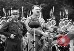 Image of Adolf Hitler reviews brown shirts Germany, 1933, second 23 stock footage video 65675031413