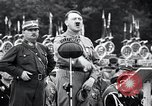 Image of Adolf Hitler reviews brown shirts Germany, 1933, second 24 stock footage video 65675031413
