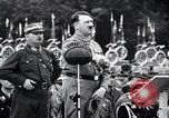Image of Adolf Hitler reviews brown shirts Germany, 1933, second 25 stock footage video 65675031413